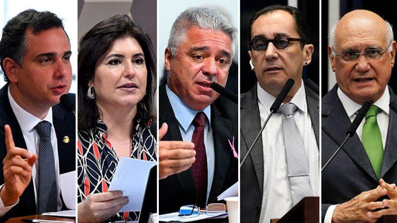 Disputa pela presidência do Senado tem cinco nomes inscritos