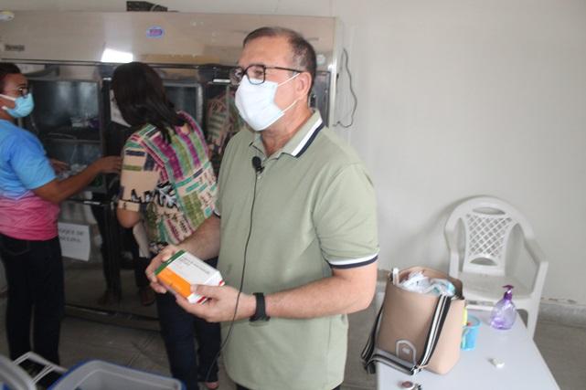 Vacinação em Caraúbas começa na quarta, 20, dia de São Sebastião
