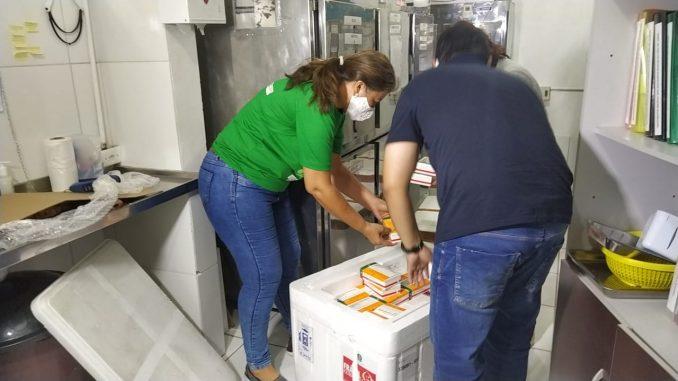 Mossoró aplica primeira dose de vacina hoje