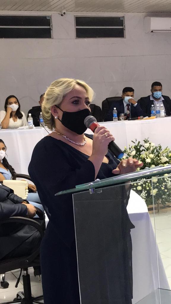 Prefeita de Grossos Cinthia Sonale cumpre extensa agenda em Brasília