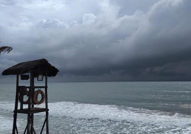 Inmet emite alerta de chuva com vento forte em 57 cidades do RN