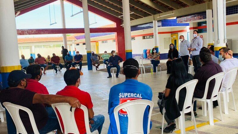 Idema e proprietários de Caieiras não-industriais de Gov. Dix-sept Rosado discutem a regularização