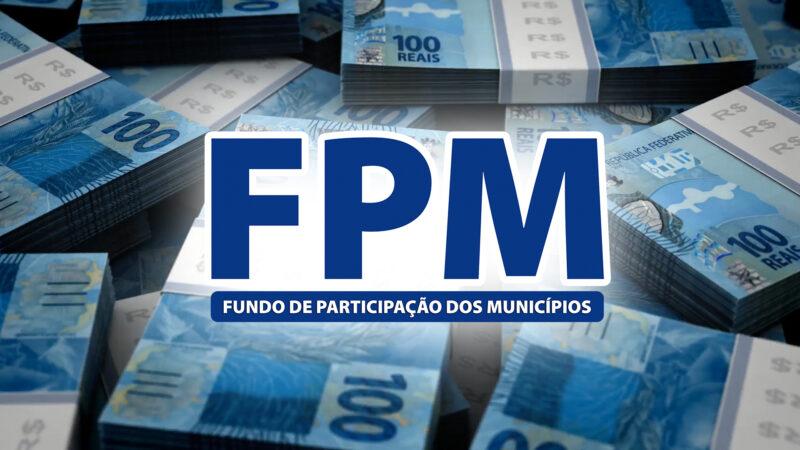 Primeiro decênio de fevereiro do FPM chega as contas das prefeituras com aumento de 10,5%