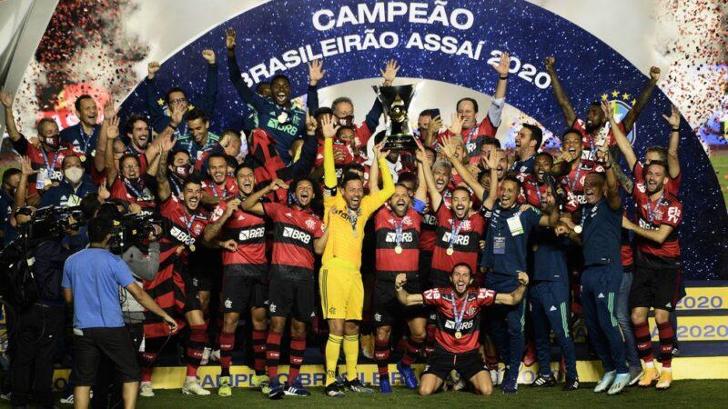 Flamengo consegue o bi brasileiro mesmo com derrota no último jogo