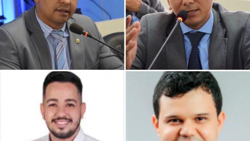 Vereadores Genilson Alves, Didi de Arnor, Lucas das Malhas e Tony Fernandes tiveram contas reprovadas pelo MP Eleitoral