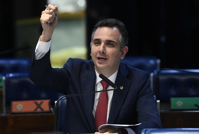 Com 57 votos, Pacheco é eleito novo presidente do Senado