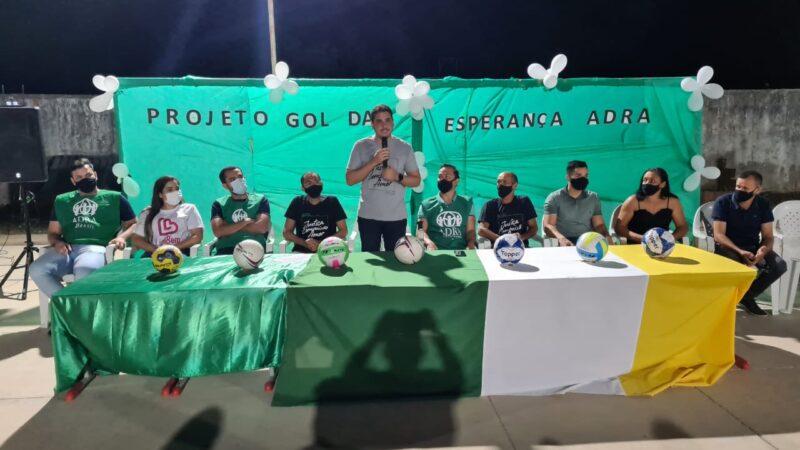 """Prefeitura de Apodi lança o projeto """"Gol da Esperança"""" na zona rural"""