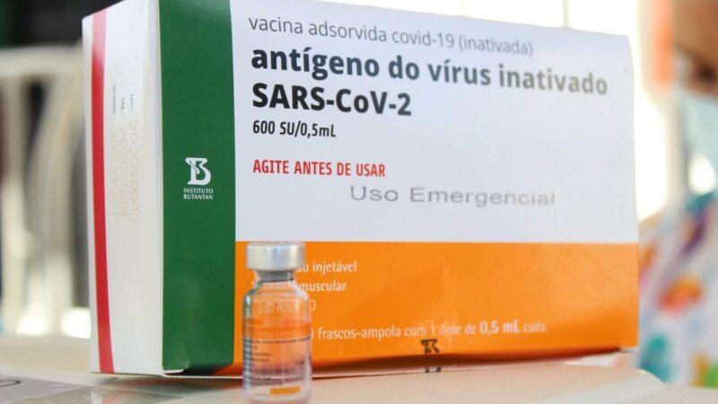 RN prepara segunda dose da CoronaVac entre 10 e 17 de fevereiro com chegada de mais 51 mil doses