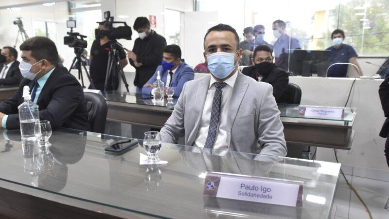 Vereador Paulo Igo solicita auxílio financeiro para profissionais de eventos