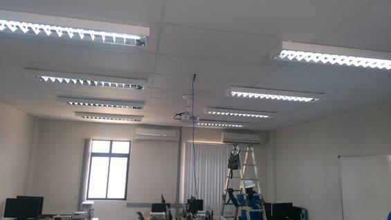 Cosern substitui 57.225 lâmpadas ineficientes por LED em 107 prédios públicos do RN em 2020