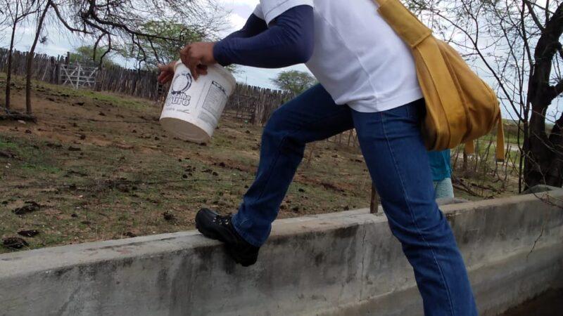 Gestão Municipal realiza ação de combate e prevenção a dengue em Caraúbas