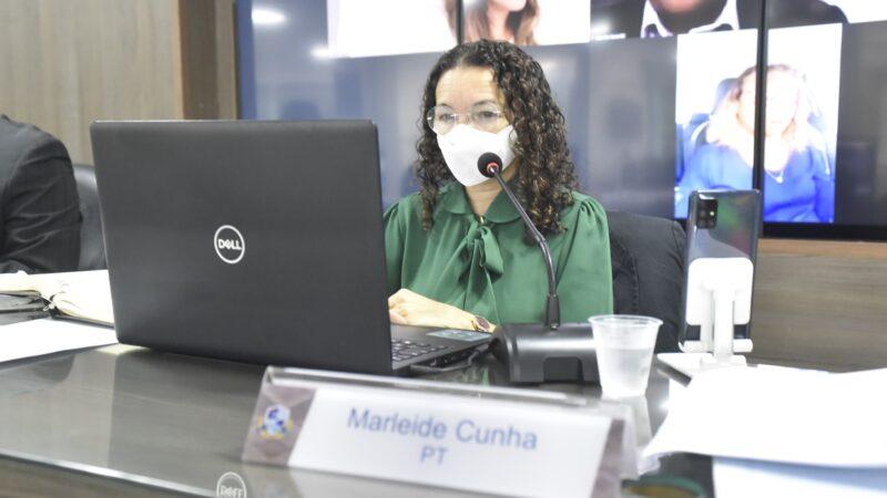 Marleide condena ato em Brasília e aborda Dia do Estudante