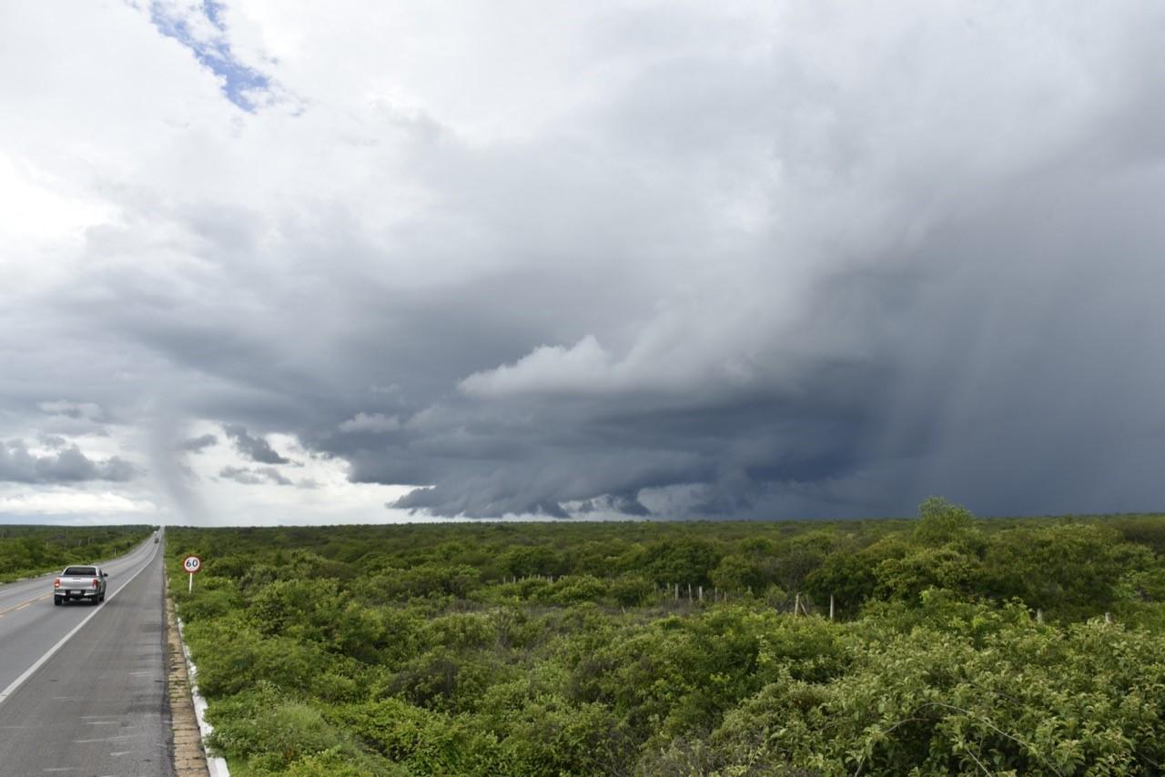 Emparn prevê maior quantidade de chuvas no RN esta semana