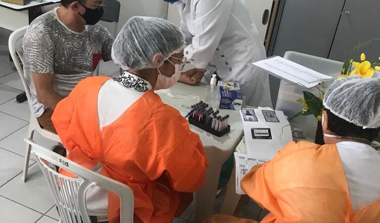 Prefeitura de Caraúbas realiza nova etapa de testagem de Covid-19 neste final de semana