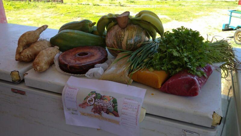 Prefeitura distribui mais de cinco toneladas de alimentos em Caraúbas