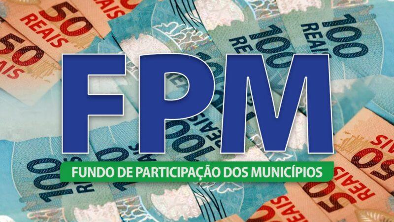 Primeira parcela de abril do FPM chega com aumento de crescimento de 60,20% em relação ao ano passado