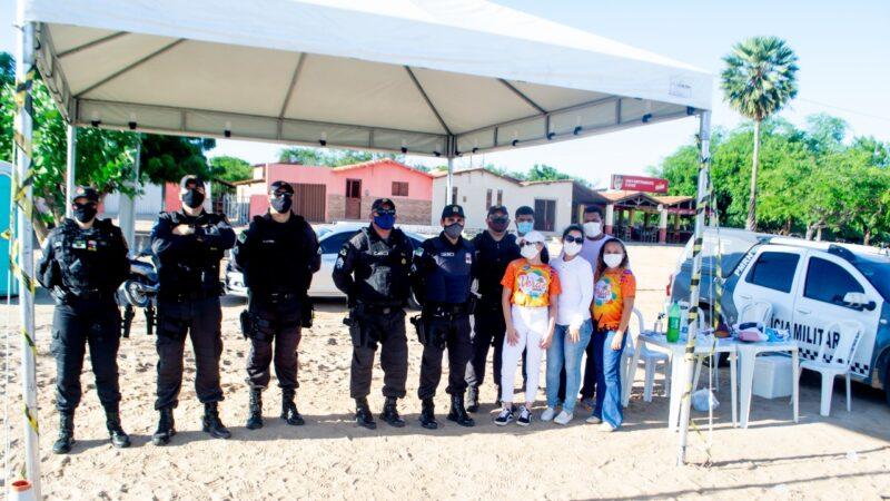 Prefeitura de Grossos realiza barreiras sanitárias no combate à Covid-19