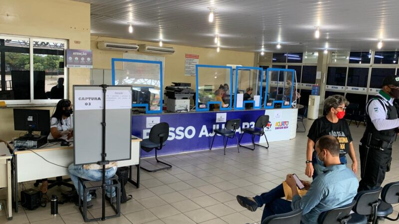 Detran retoma serviços presenciais de habilitação em Natal e Mossoró
