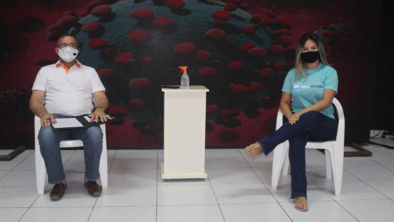 Prefeitura de Caraúbas realiza live para debater momento crítico da pandemia