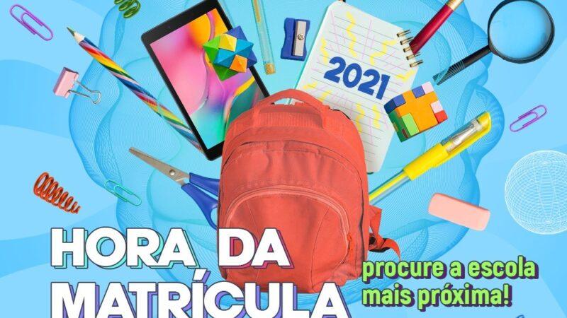 Secretaria de Educação de Caraúbas lança Campanha de matrículas 2021