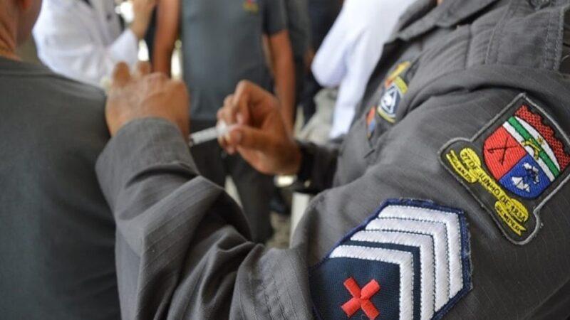 Governo do RN inicia vacinação de agentes de segurança pública