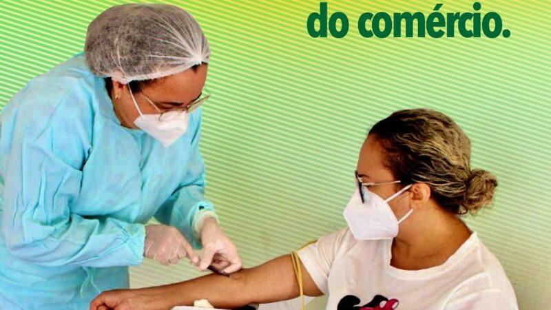 Secretaria de Saúde de Patu já realizou mais de 500 testes de Covid-19 nos trabalhadores do comércio