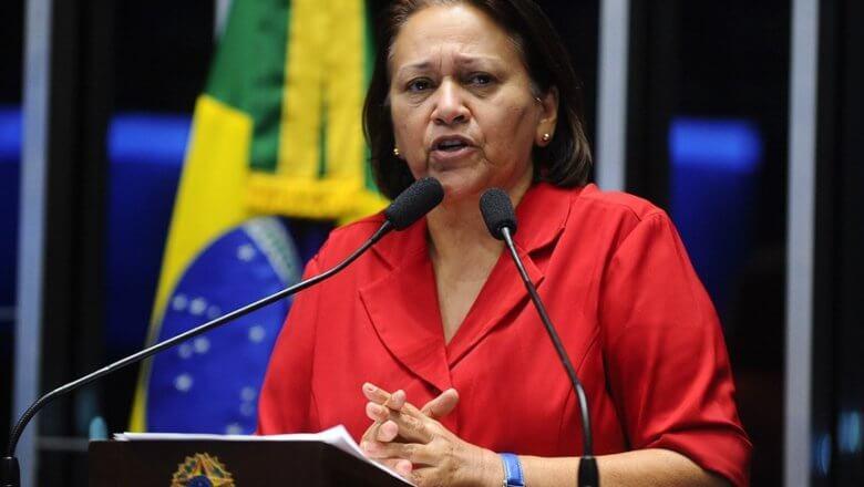 Governadora Fátima Bezerra nuncia chegada de mais 89,4 mil doses de vacinas contra Covid-19