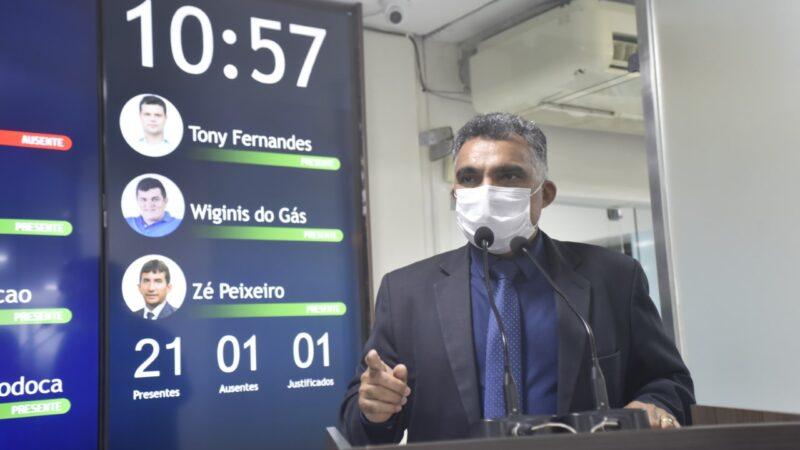 Professor Francisco Carlos propõe moção de apoio ao projeto que institui piso salarial nacional de profissionais de saúde