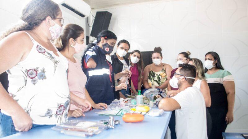 Prefeitura oferece treinamento em Urgência e Emergência para profissionais da saúde em Grossos