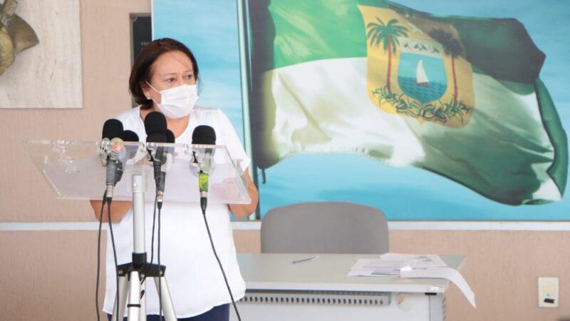 Governadora assina ordem de serviço para implementação da Caixa Cênica do TAM