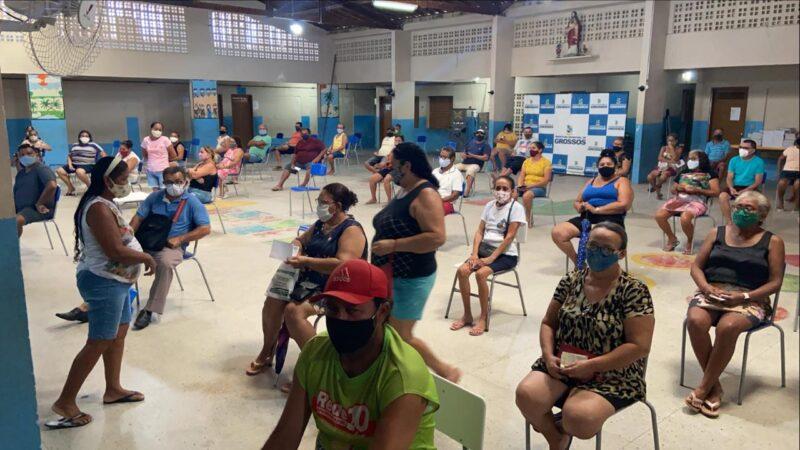 Prefeitura inicia vacinação em pessoas de 45 a 49 anos com comorbidades em Grossos a partir de hoje (13)