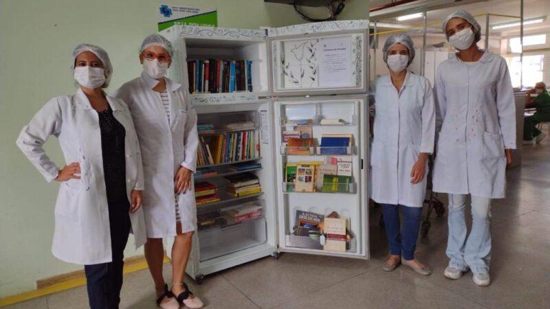 Hospital Walfredo Gurgel cria o projeto Gelateca