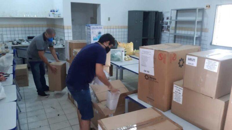 Escolas Estaduais da região de Mossoró recebem novos equipamentos e mobílias
