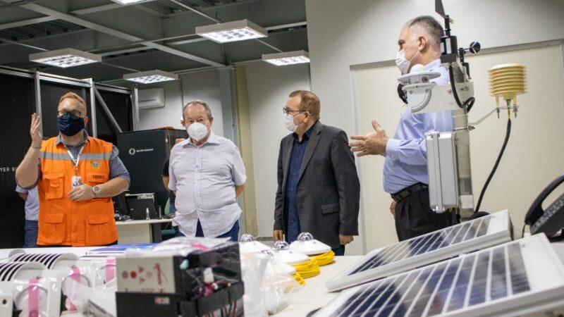 Governo do Estado e ISI iniciam instalação de equipamentos para produção de Atlas Solar e Eólico do RN