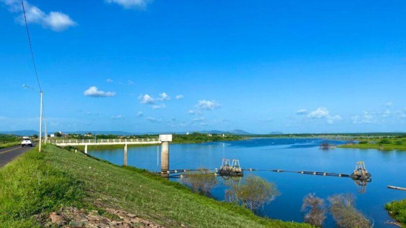 Barragem de Pau dos Ferros ultrapassa 43% de sua capacidade e supera volume de 2020