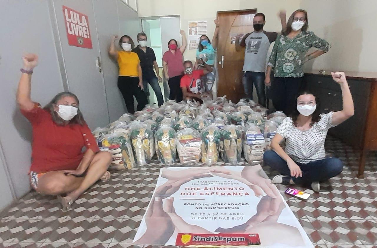 """Campanha """"Contra a Fome, Pela Vida"""" entrega cestas básicas neste sábado, Dia do Trabalhador"""