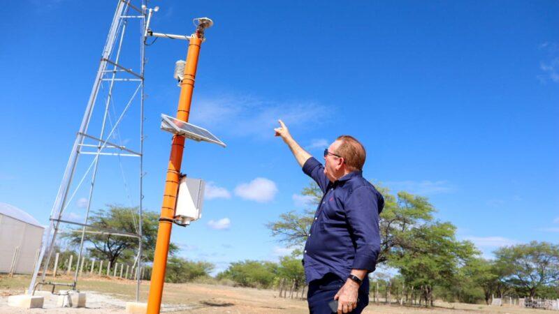 Governo do RN instala primeira estação solarimétrica do estado