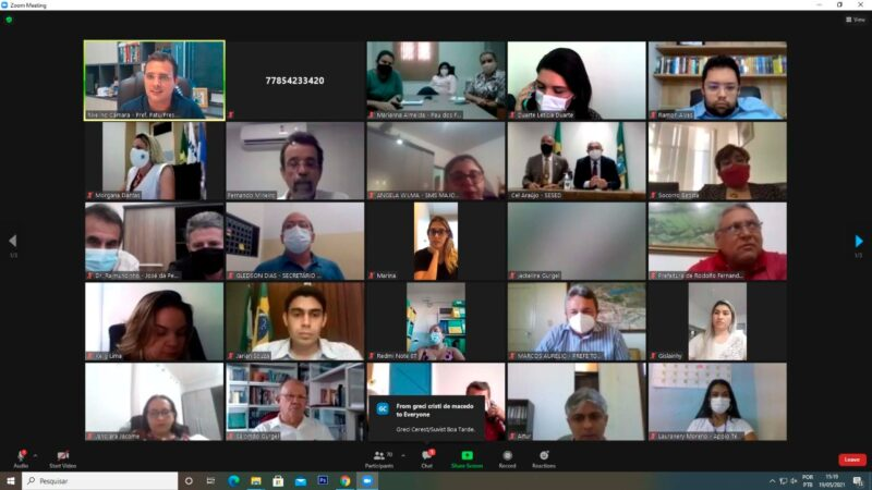 Governo do RN reúne prefeitos do Oeste para tratar da pandemia