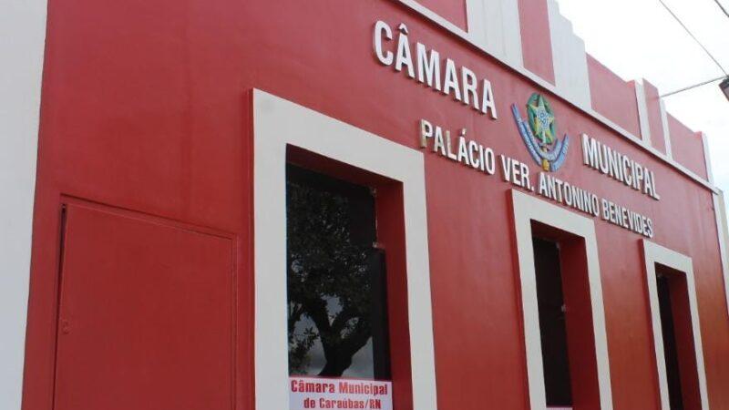 Câmara de Vereadores de Caraúbas flexibiliza medidas e retoma atividades de forma remota