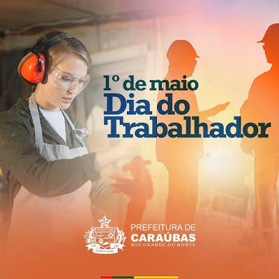 Homenagem de Juninho Alves e Paulo neste Dia do Trabalhador aos que fazem a saúde caraubense