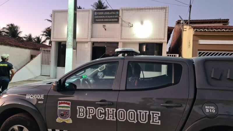 Vereador e controlador da Câmara Municipal de Caiçara do Norte são presos e afastados dos cargos
