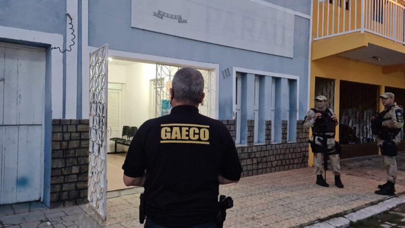 Operação do MPRN em Paraú, prende marido da prefeita e servidor público