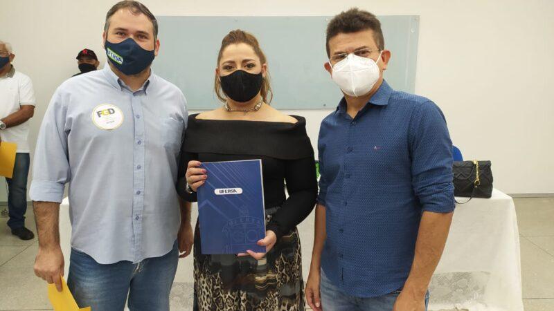 Reitor da Ufersa confirma ao prefeito Juninho Alves, possibilidade do curso de Medicina em Caraúbas