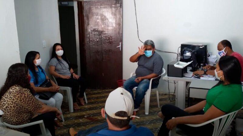 Secretário de Agricultura de Messias Targino Pôla Pinto se reúne com representante da Regional da Emater