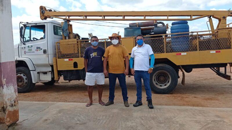 Município recebe visita de técnicos para instalação de dessalinizadores em poços comunitários