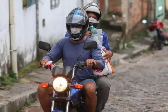 Pouco mais de 64% dos motociclistas do RN usam capacete