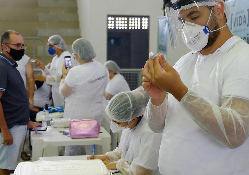 Coronavac: Mossoró vacinará em 2a dose imunizados até 31 de março