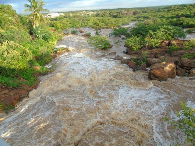 Aumento do volume de chuvas no interior do RN garante aporte aos reservatórios do Estado