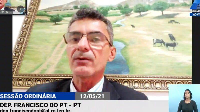 Francisco do PT propõe teste do pezinho completo na rede pública de saúde