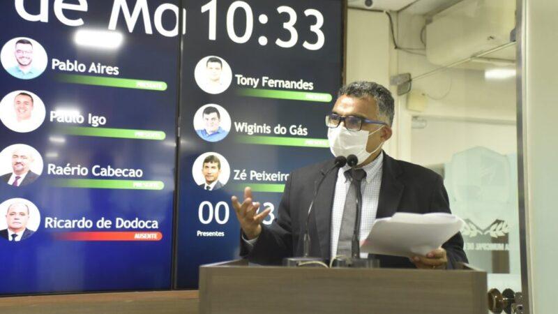 Francisco Carlos apresenta requerimento solicitando esclarecimentos de gastos da Prefeitura de Mossoró com blogs e portais